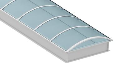 Lichtbänder Essers Flachdach Bauelemente